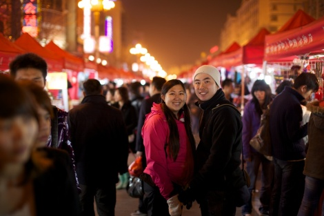 Night market!