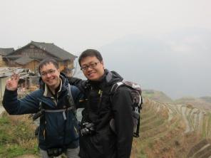Tong and I!