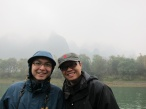 My mate Tong and I.