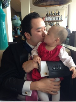 Henry kissing Annabelle!