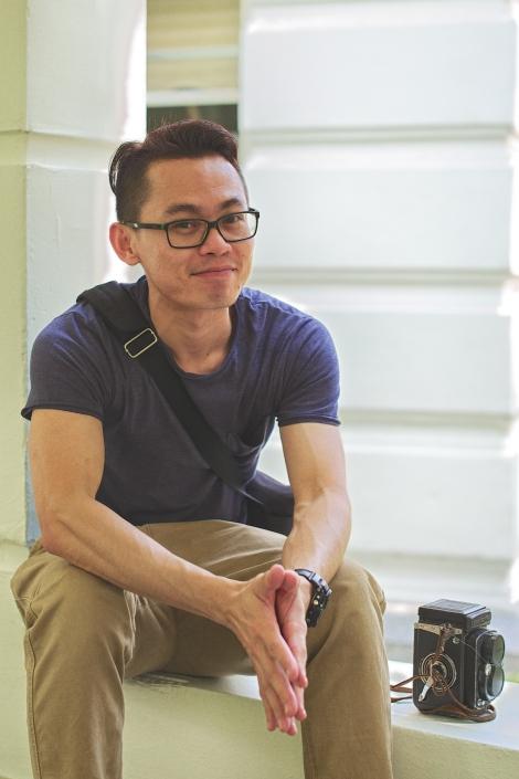 My photographer friend, Sean Eng in KL.