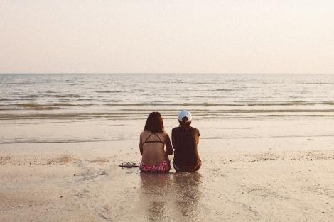 Leica Street, Beach, Malaysia, Voigtlander Nokton 35mm 1:1.2 VM II ASPH