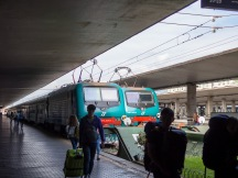 Traveling by train was definitely a good idea in Italy. Very straight forward and easy.