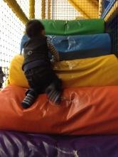 Ashton loves soft play!