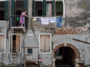 Venturing behind the main tourist routes was the best way to 'see' Venetians living.