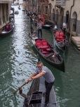 Gondola traffic...