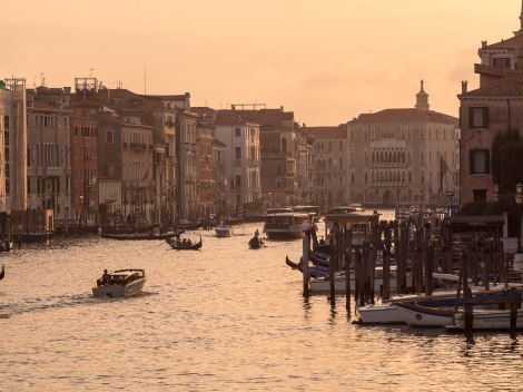 Sunset was just magical in Venice.