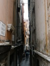 Parts of Venice is very narrow too!