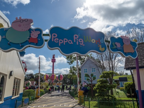 Peppa Pig's World here we come!