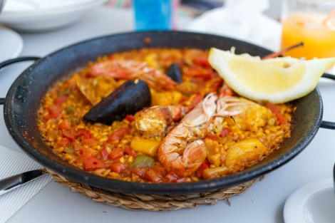 Paella, lovely!
