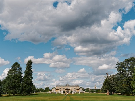 The beautiful Wrest Park.