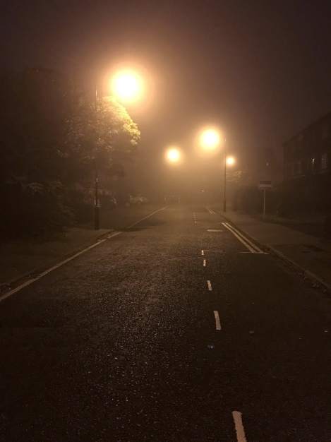 I am truly stunned by how good the iPhone 6s handles this type of foggy situation.