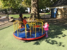 Loving playtime in the park!