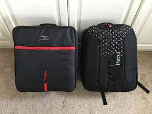 Side by side (Anbee and Parrot/Manfrotto case)