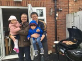 Back in London, we got to see my friend's new house and had a BBQ!