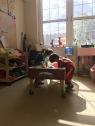 New nursery play time.