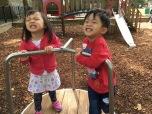 Kids love outdoor, too true.