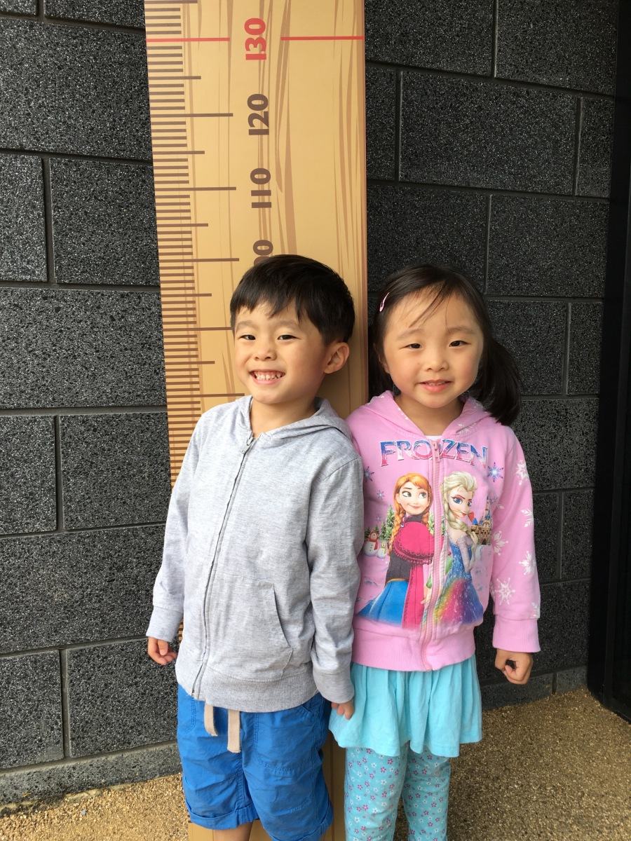 Measuring height!