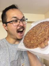 Giant mooncake.