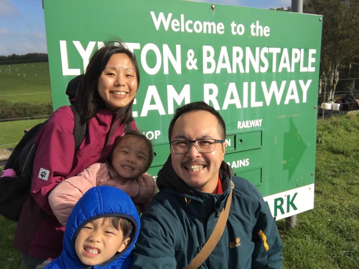 Steam train! We love it.