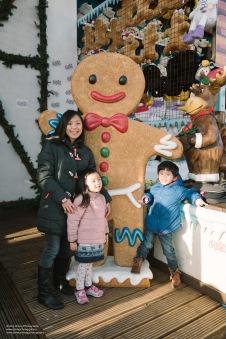 "Ashton said ""Big Gingerbread man!"""