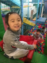 Any kids will love soft play.