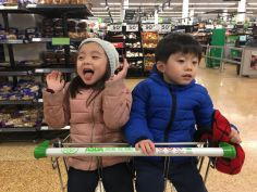 Excited about supermarket!