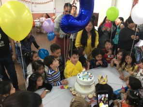 They certainly loves birthday parties